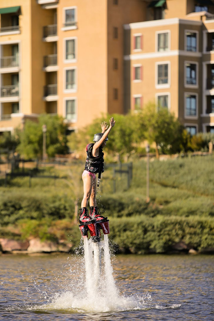 Flyboarding at Las Vegas Lake //  Things to do Las Vegas.