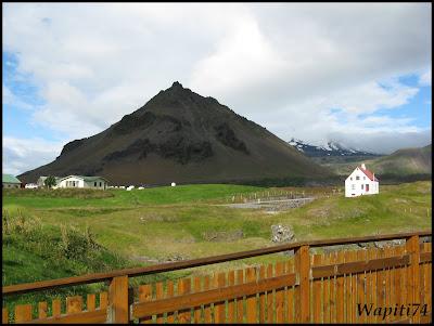 Un tour  d'Islande, au pays du feu... et des eaux. 8-Arnastapi