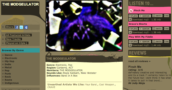 the modgeulator screenshot