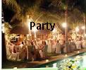 pesta pernikahan meriah