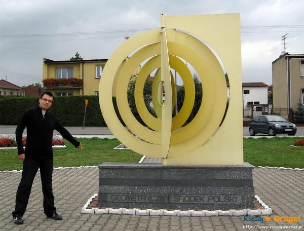 Piątek - geometryczny środek Polski