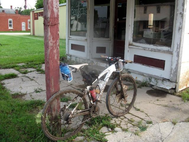 Muddy Bike at DK200