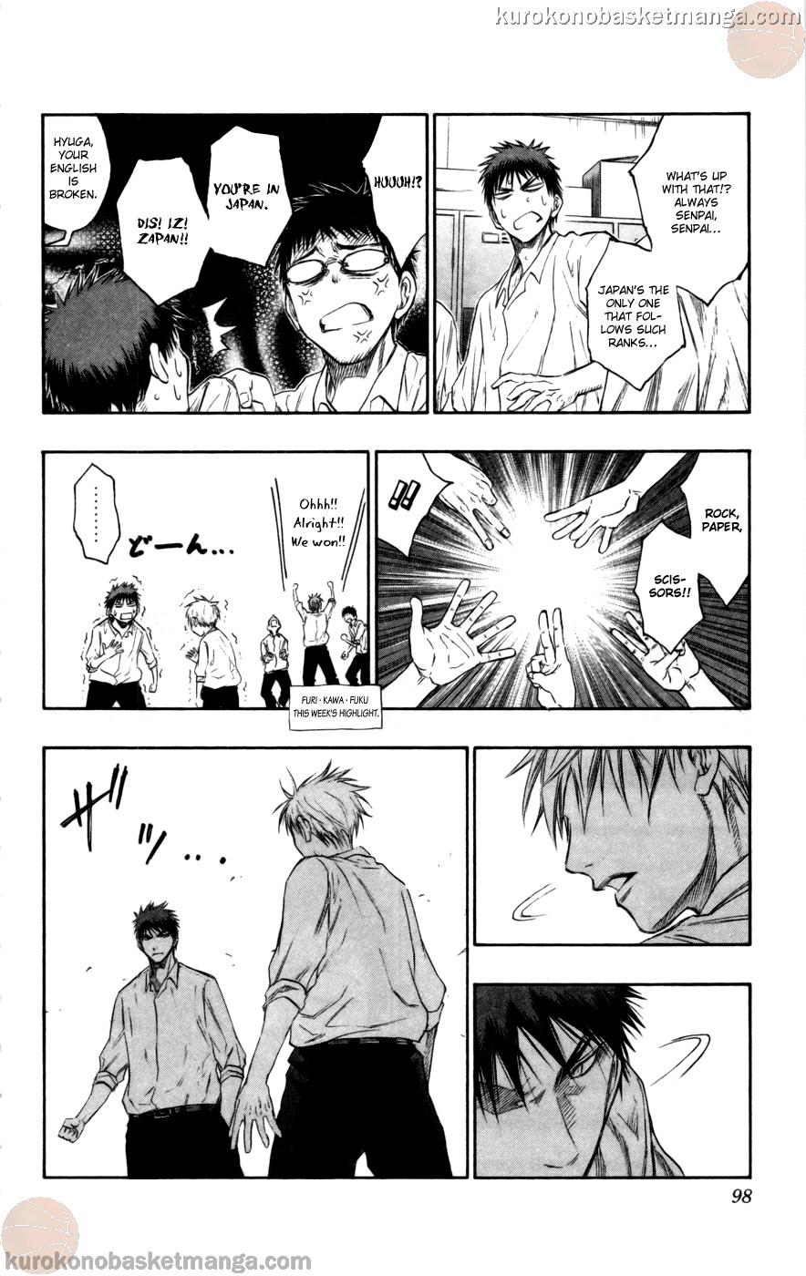 Kuroko no Basket Manga Chapter 94 - Image 14
