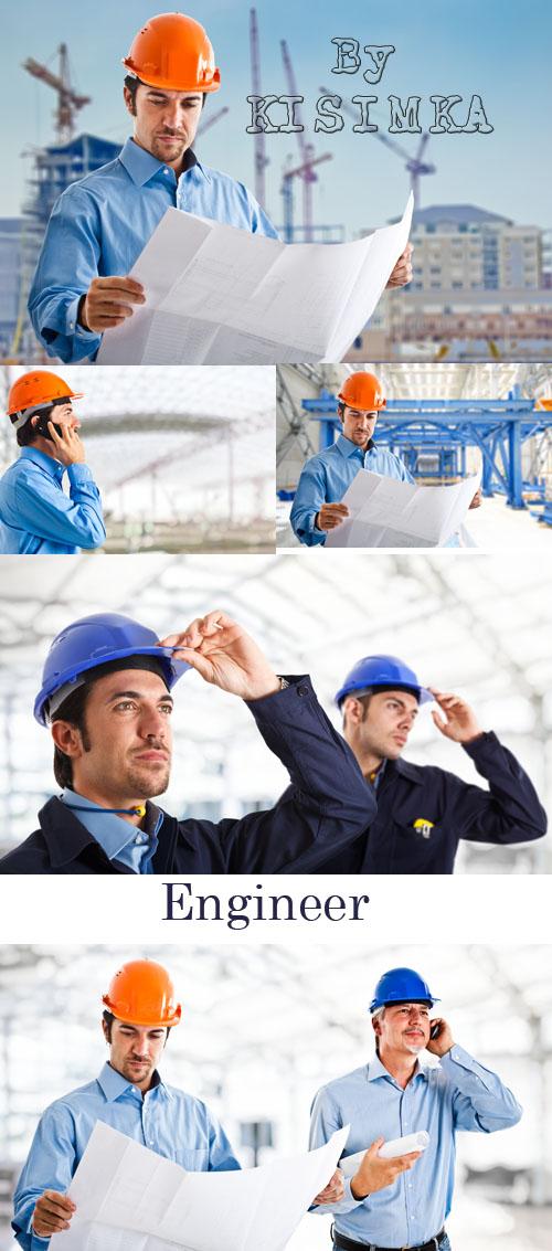 Stock Photo: Engineer