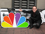 Me and the NBC logo - notice in the pictures in the Election Plaza section - these are from that