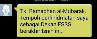 Kenyataan Media:  Presiden Persatuan Mahasiswa Universiti Malaya