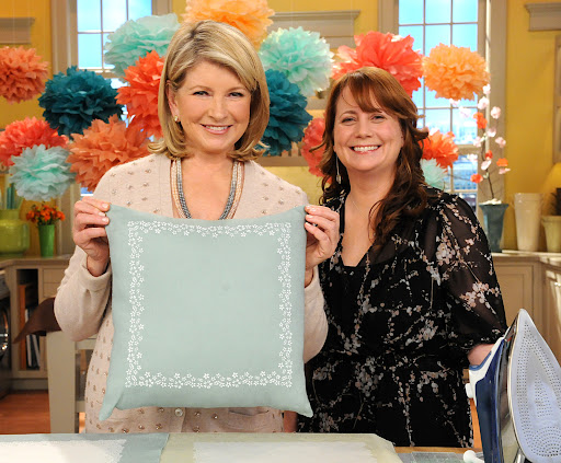 Martha and Hosanna. Photo: David E. Steele/The Martha Stewart Show