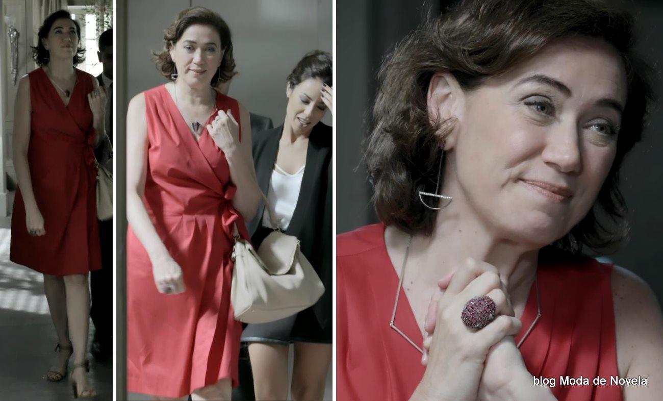 moda da novela Império, look da Maria Marta dia 4 de dezembro de 2014
