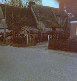 The old Forge cottage prior to restoration, Hauxton Road, Little Shelford