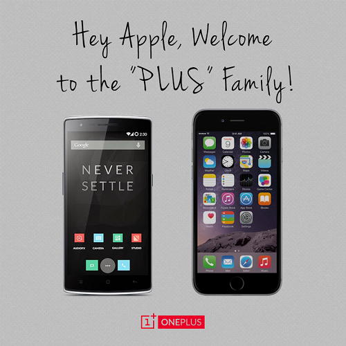 ONEPLUS ONE - IPHONE 6 PLUS