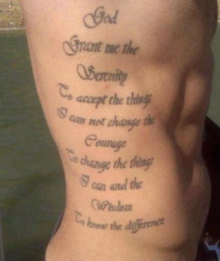 Ribcage tattoos
