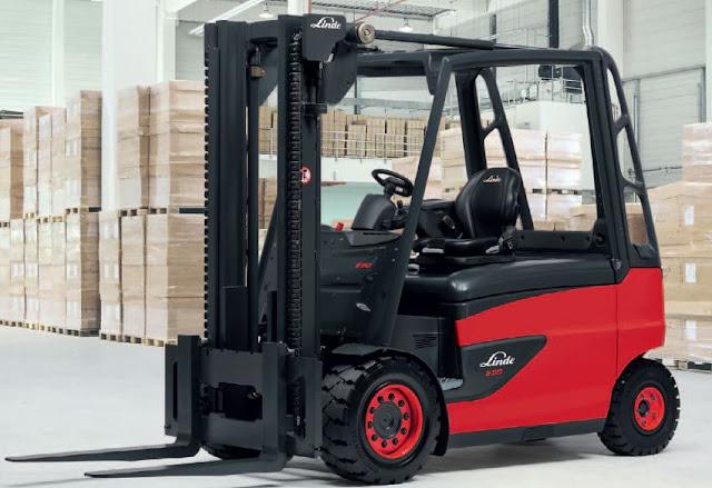 Linde E40/600H, E40/600HL xe nâng điện 4 tấn