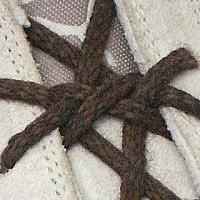 Шнуровка двойным крестом