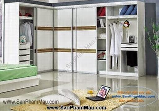 Các mẫu tủ quần áo bằng gỗ công nghiệp-6