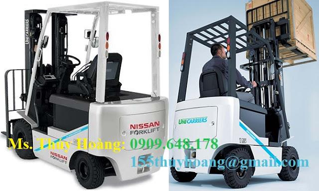 Xe nâng điện Nissan Nhật Bản 1.5 tấn