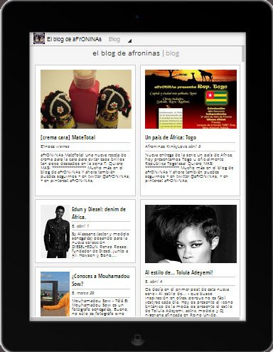 google currents, afroninas, blog, afroblog