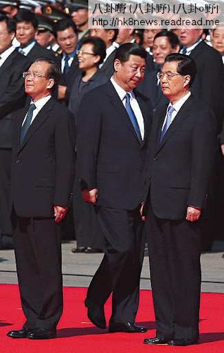 胡溫十年,撈了一筆,習近平未坐正,家族成員已經滾存上百億元人民幣資產。(歐新社圖片)