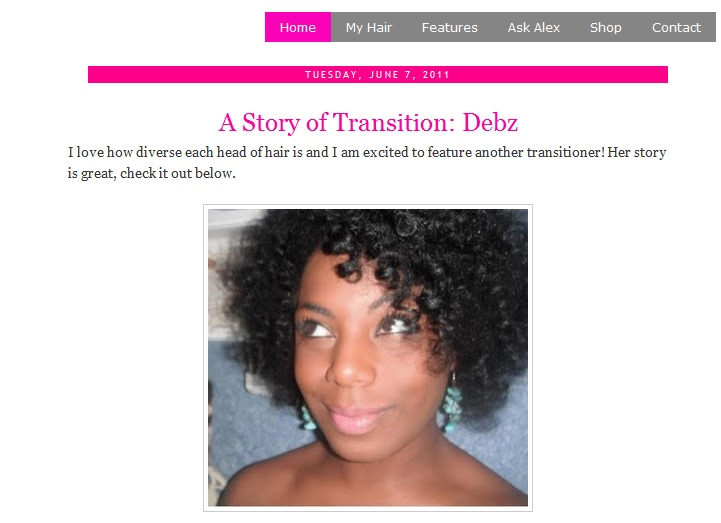 "I've Been Featured On ""The Good Hair Blog""!"