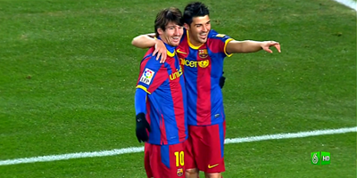 Copa Del Rey : Barcelona 5 vs 0 Almeria 26-01-2011