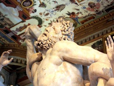 Sculpture in the Uffizi Gallery
