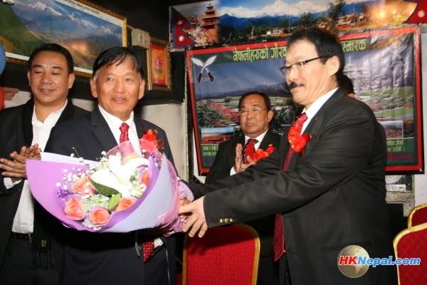 Fundraising Program in Hong Kong for Gurkha Monument (Photo)