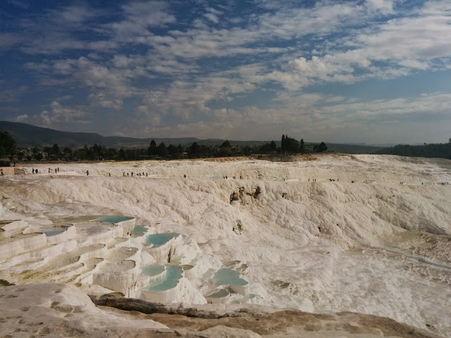 Travertines of Pamukkale, Turkey
