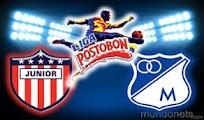 Millonarios Junior vivo online Octoonal Grupo A 9Dic