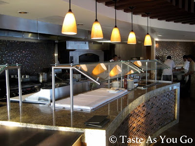 Open Kitchen at La Roca Restaurant at Grand Solmar Land's End Resort & Spa in Cabo San Lucas, Mexico - Photo by Taste As You Go