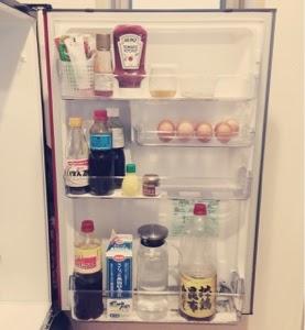冷蔵庫中身扉側収納
