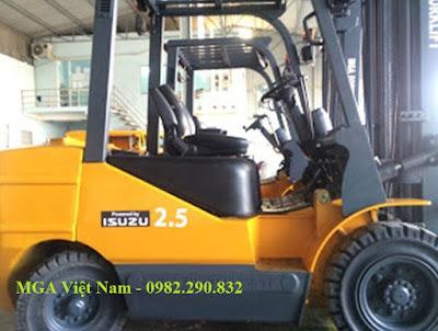 Xe nâng diesel MGA