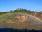 Los arcoiris se pueden ver por todos lados, dobles, triples... una preciosidad