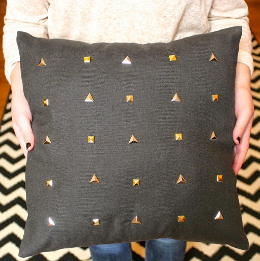 DIY Studded Pillows