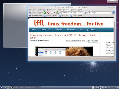 Fedora 17 Beefy Miracle KDE