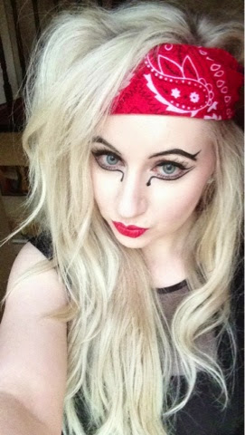 Sammi Jackson - Lady Gaga Judas Outfit