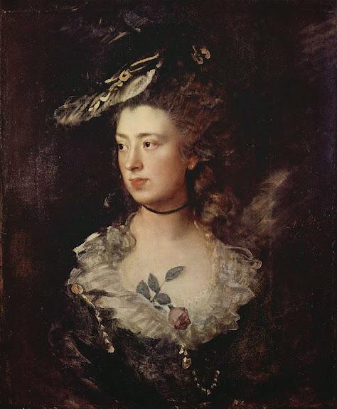 Thomas Gainsborough - Gainsborough`s Daughter Mary (1777)