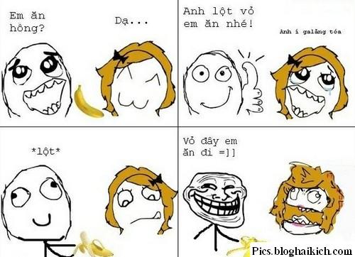 Troll bạn gái