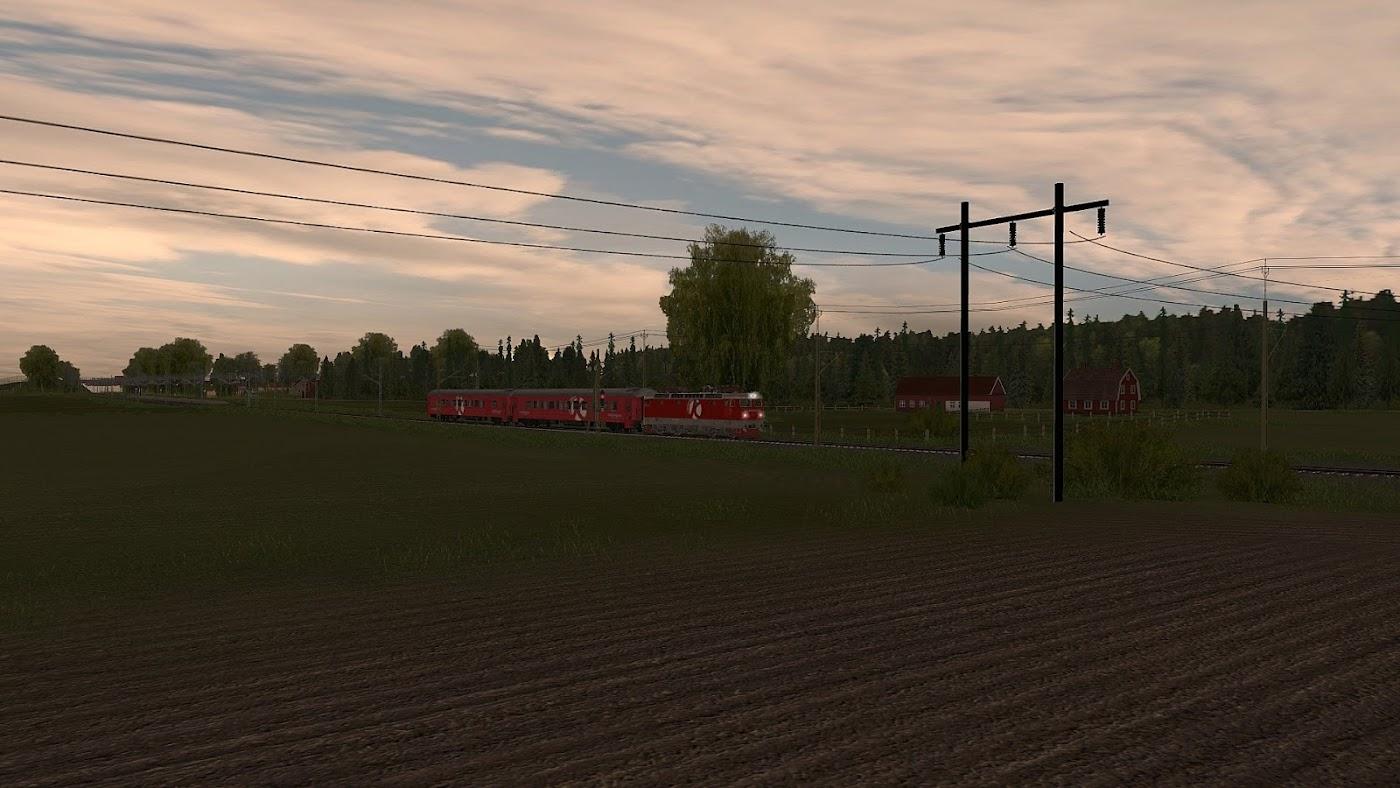svenska 3d tåg