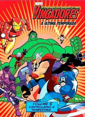 Filme Poster Os Vingadores – Os Super Heróis Mais Poderosos da Terra Vol.5  DVDRip XviD & RMVB Dublado
