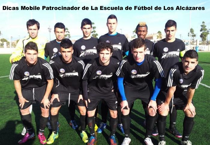 Dicas Mobile Patrocinador Escuela de Fútbol de Los Alcázares