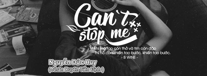 [ PSD Ảnh Bìa ] Can't Stop Me - B Wine