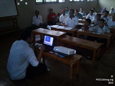 pelatihan saksi TPS kelurahan sadang serang