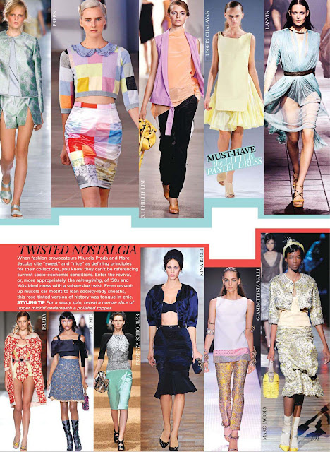 Spring 2012 Runway Report by Flare