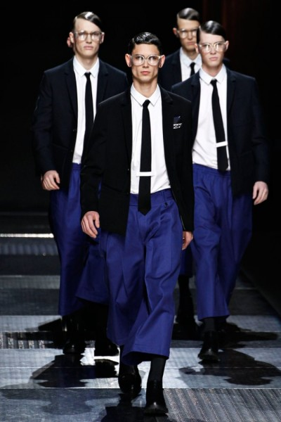 Kris Van Assche at Paris Fashion Week