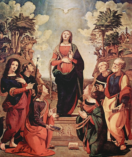 Piero di Cosimo - Incarnation of Jesus