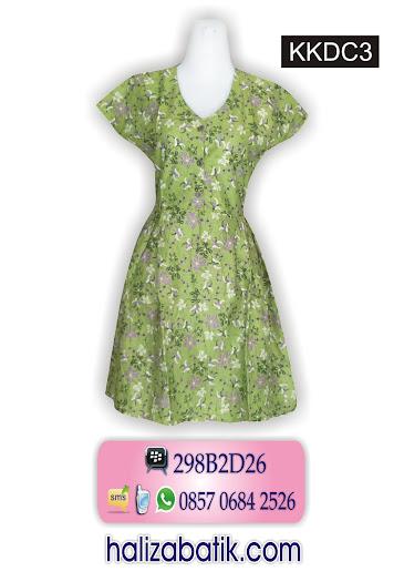 KKDC3 Batik Dress, Model Dress, Baju Batik, KKDC3