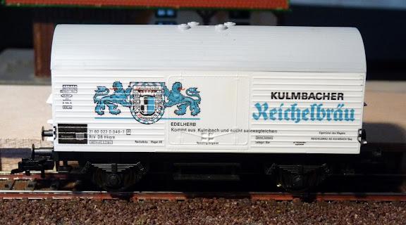 Fleischmann 5046: Bierwagen Reichelbräu