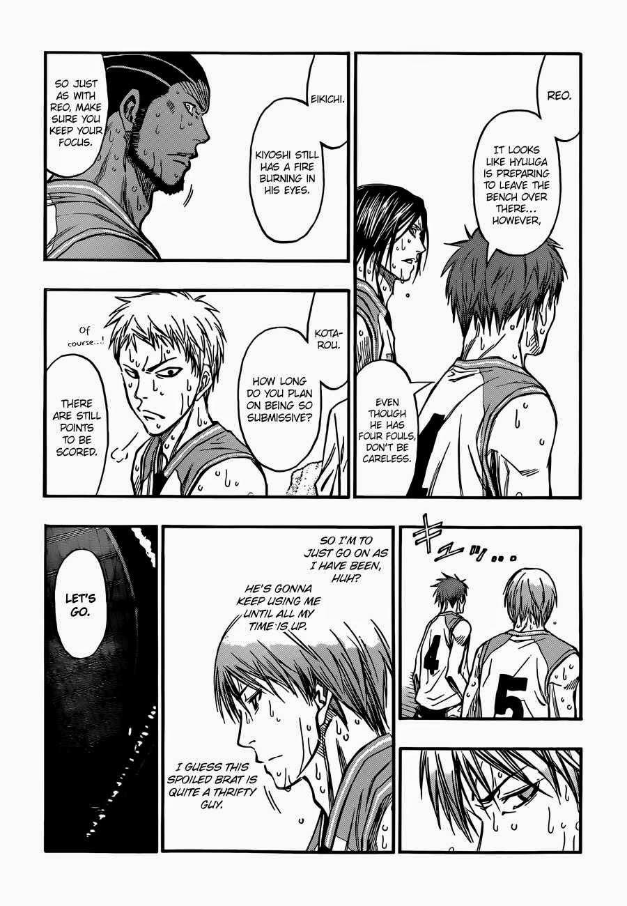 Kuroko no Basket Manga Chapter 257 - Image 09