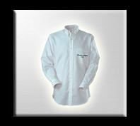 Camisas para hombre de dotación con bolsillo lapicero.