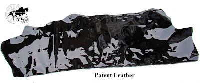 Finest Quality Traditional English Black Patent Leather Half Side 2
