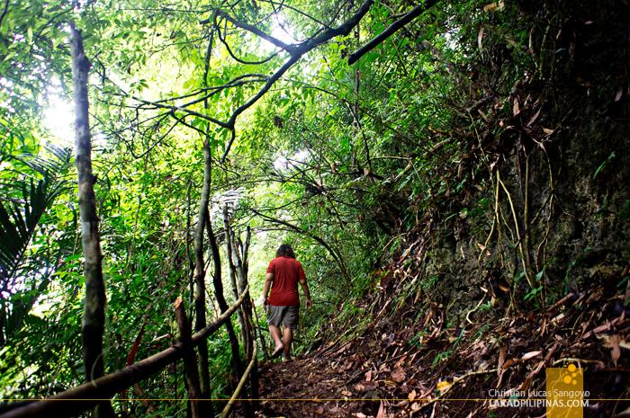 The Trek Down at Hoyop-Hoyopan Cave in Camalig, Albay